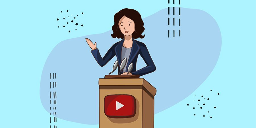 How to improve public speaking skills if you are a YouTube blogger